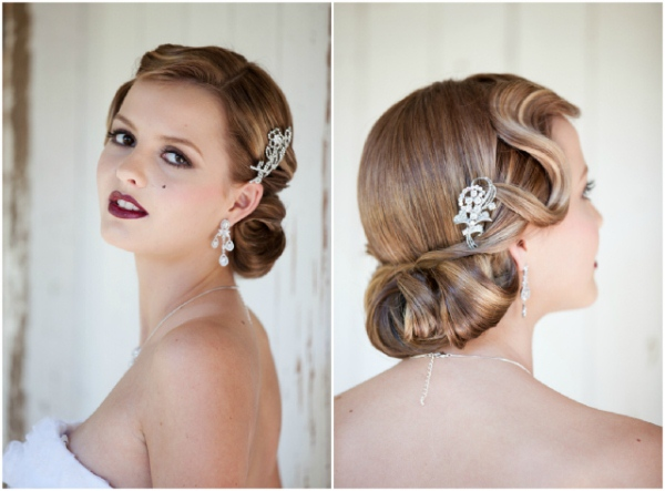 Vintage Wedding Hair And Makeup : Vintage Bride: 1940s Beauty and Fashion - The Brides Tree
