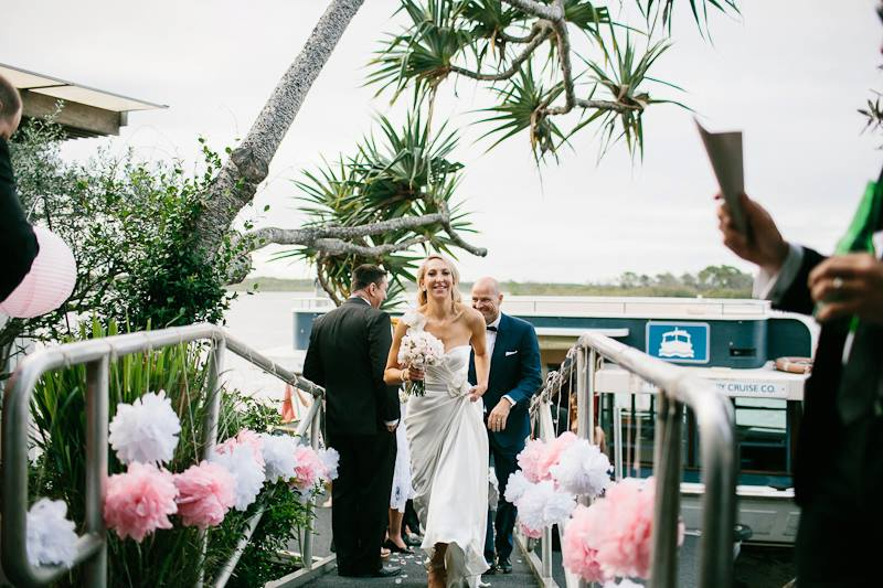 Noosa Wedding Venue Review Rickys River Bar And Restaurant