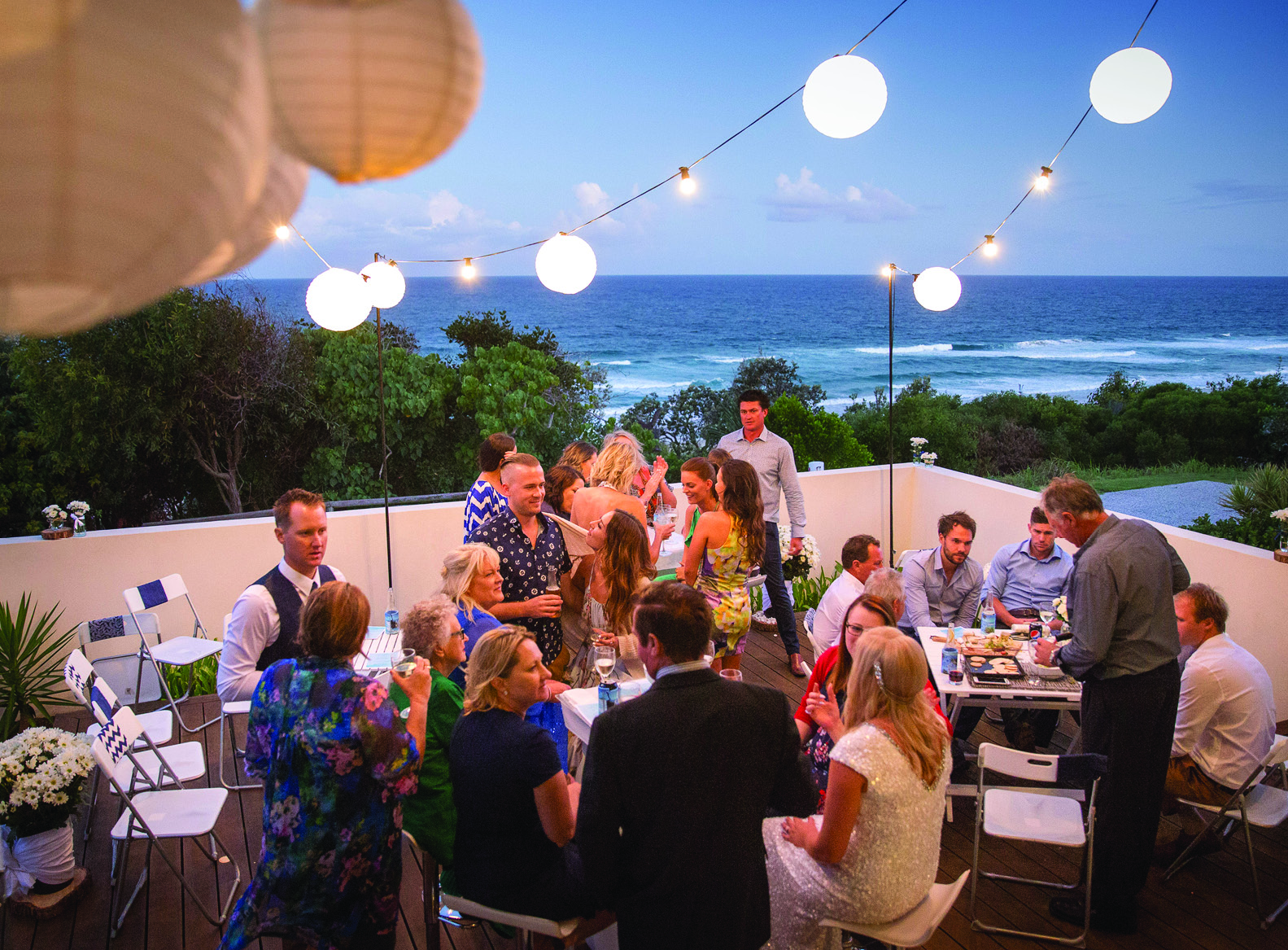 Chole And Shanes Private Beach House Wedding The Brides Tree