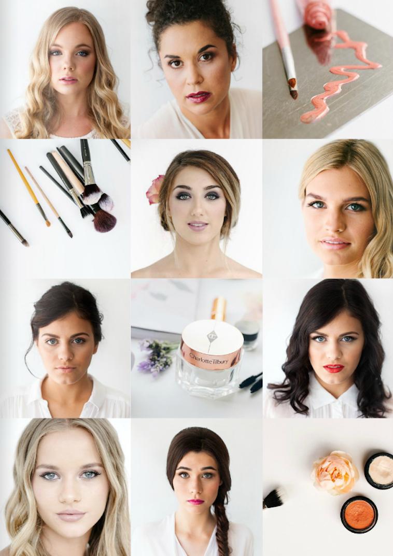 Wedding Makeover Online : Bridal Makeup Look Book - The Brides Tree