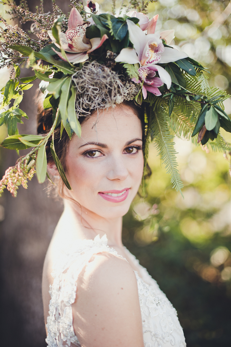 woods + bloom woodland creature bride shoot websize-15