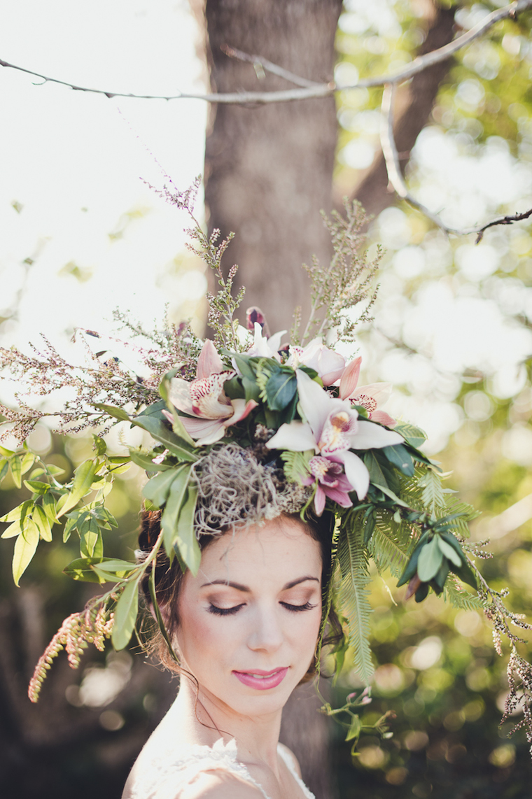 woods + bloom woodland creature bride shoot websize-17