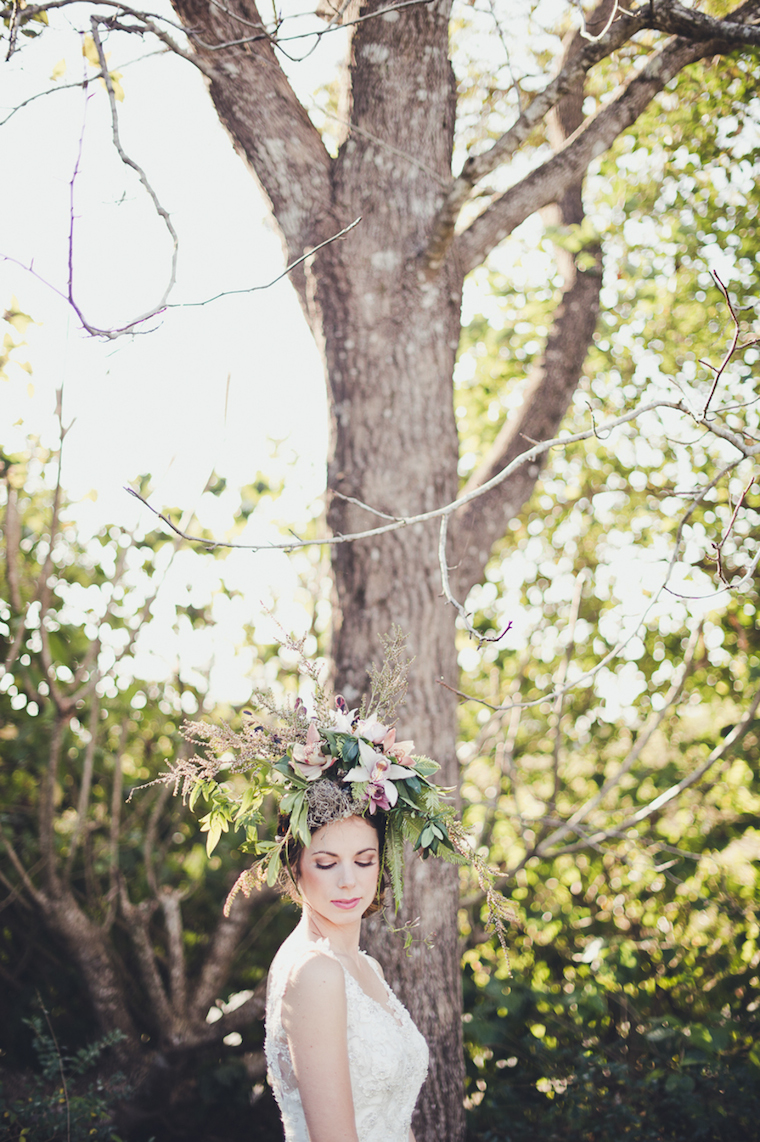 woods + bloom woodland creature bride shoot websize-19
