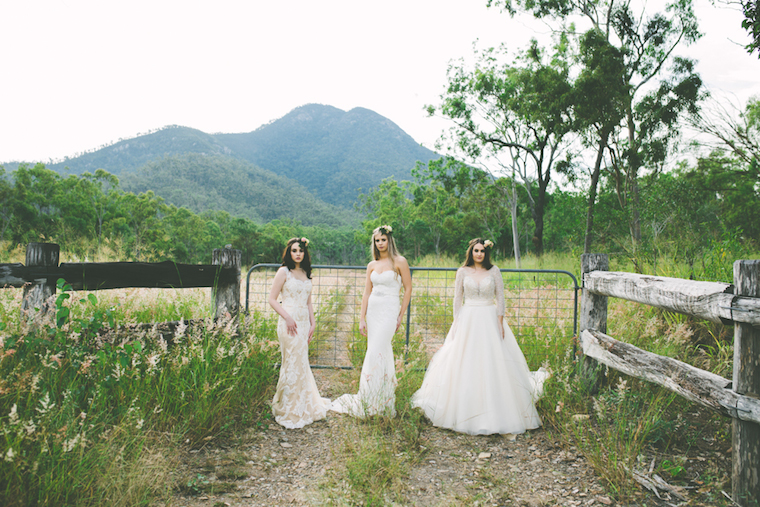 Bridal Gowns In The Country