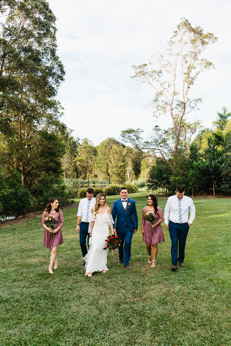 Noosa marquee wedding _ Noosa backyard wedding