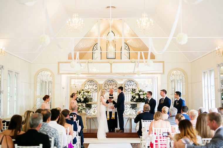 Flaxton Gardens wedding _ real wedding Sunshine Coast hinterland _ Anna Campbell wedding gown