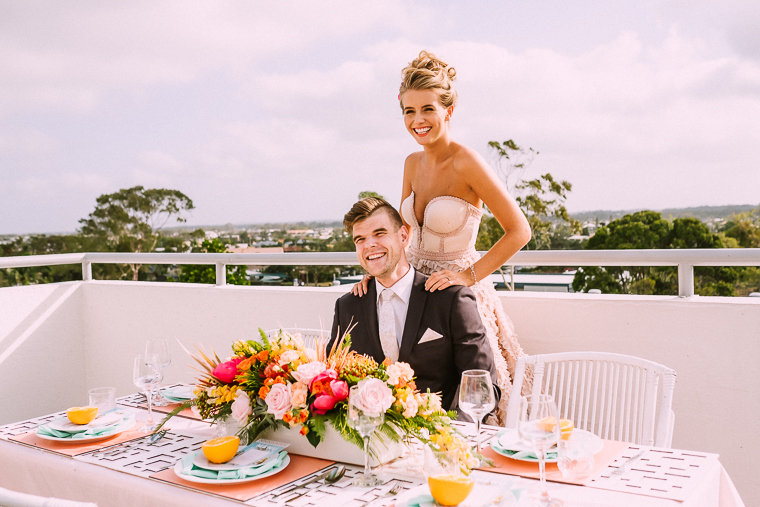 Rooftop wedding reception Mooloolaba _ The Bride's Tree magazine