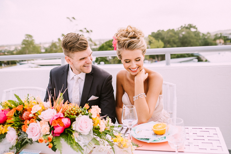 Rooftop wedding reception Mooloolaba _ The Bride's Tree magazine1
