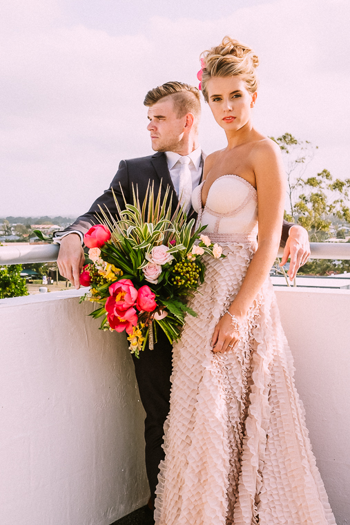 Rooftop wedding reception Mooloolaba _ The Bride's Tree magazine6