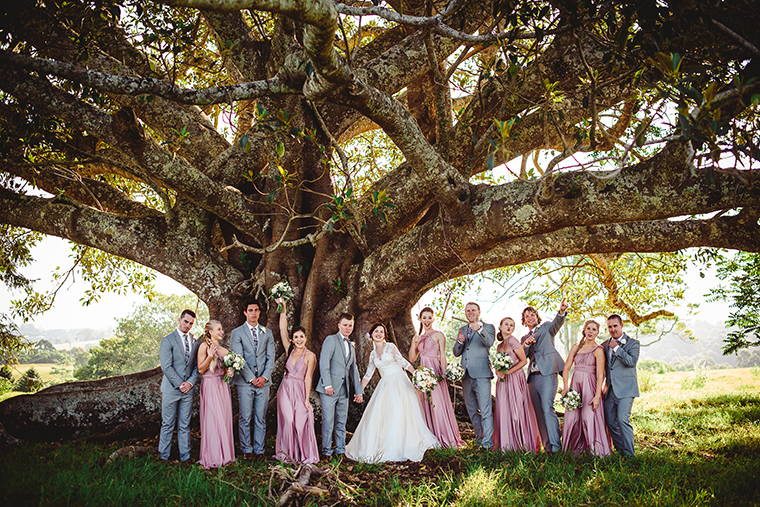 Buderim Wedding _ Sunshine Coast Wedding _ The Bride's Tree