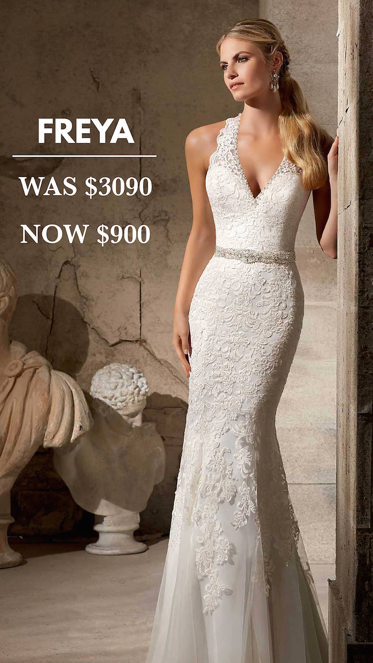 Brisbane Wedding Dress Sample Sale - The Bride\'s Tree