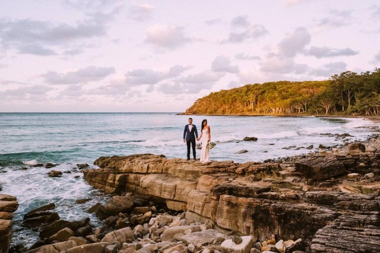 Beach wedding _ winter wedding
