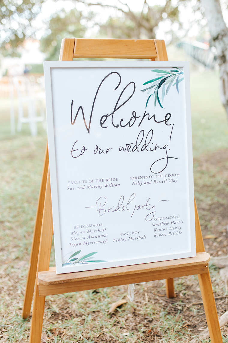Noosa Waterfront Wedding _ Mallory Sparkles _ The Bride's Tree 2017