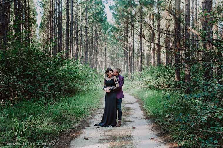 Forrest wedding style _ Styled shoot sunshine coast wedding _ The Bride's Tree