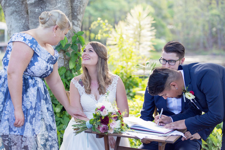 Private property DIY wedding _ Wedding vows _ Fiona Duce celebrant