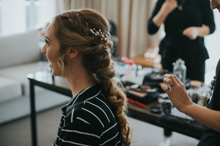 Maleny bridal hair and makeup artist _ Allure Bridal Stylists
