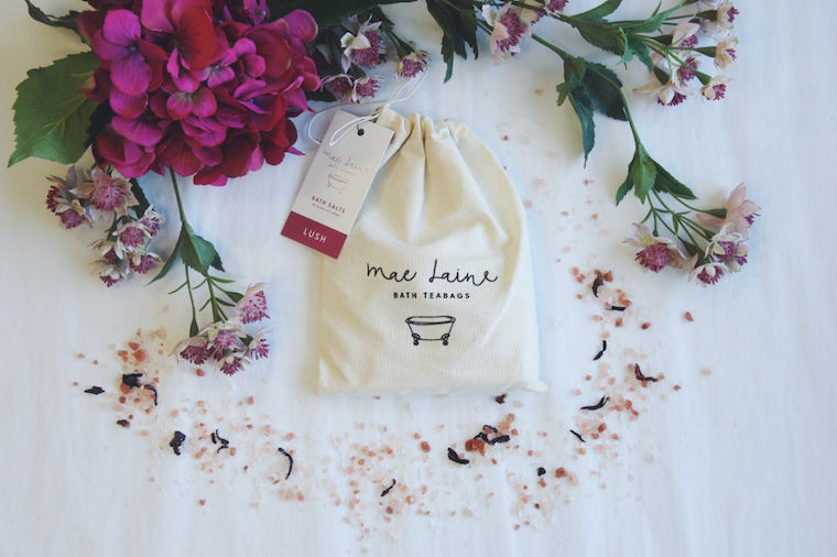 Mae Laine bath tea - Christmas gift idea