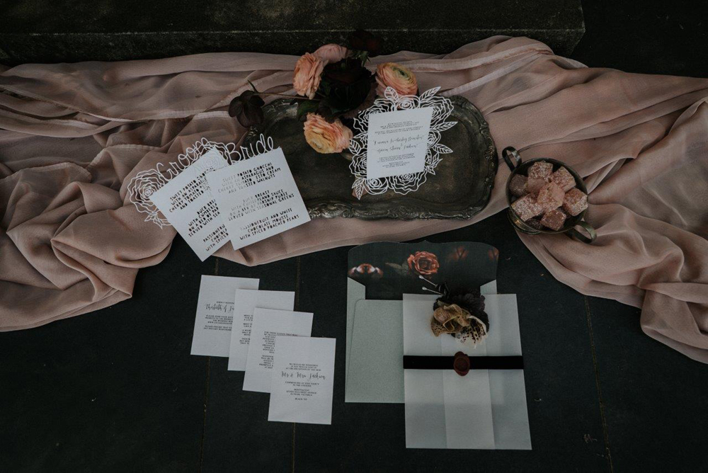 Wedding Invitations Sunshine Coast - Studio B Couture