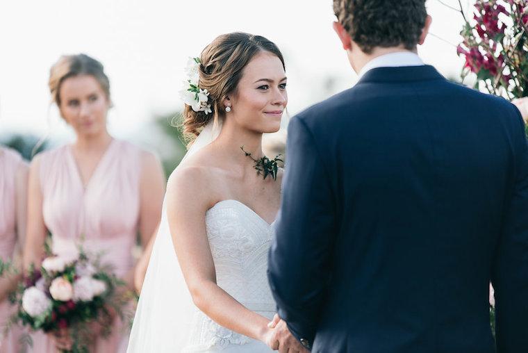 Garden wedding Sunshine Coast _ garden wedding ceremony _ Bre & Alex