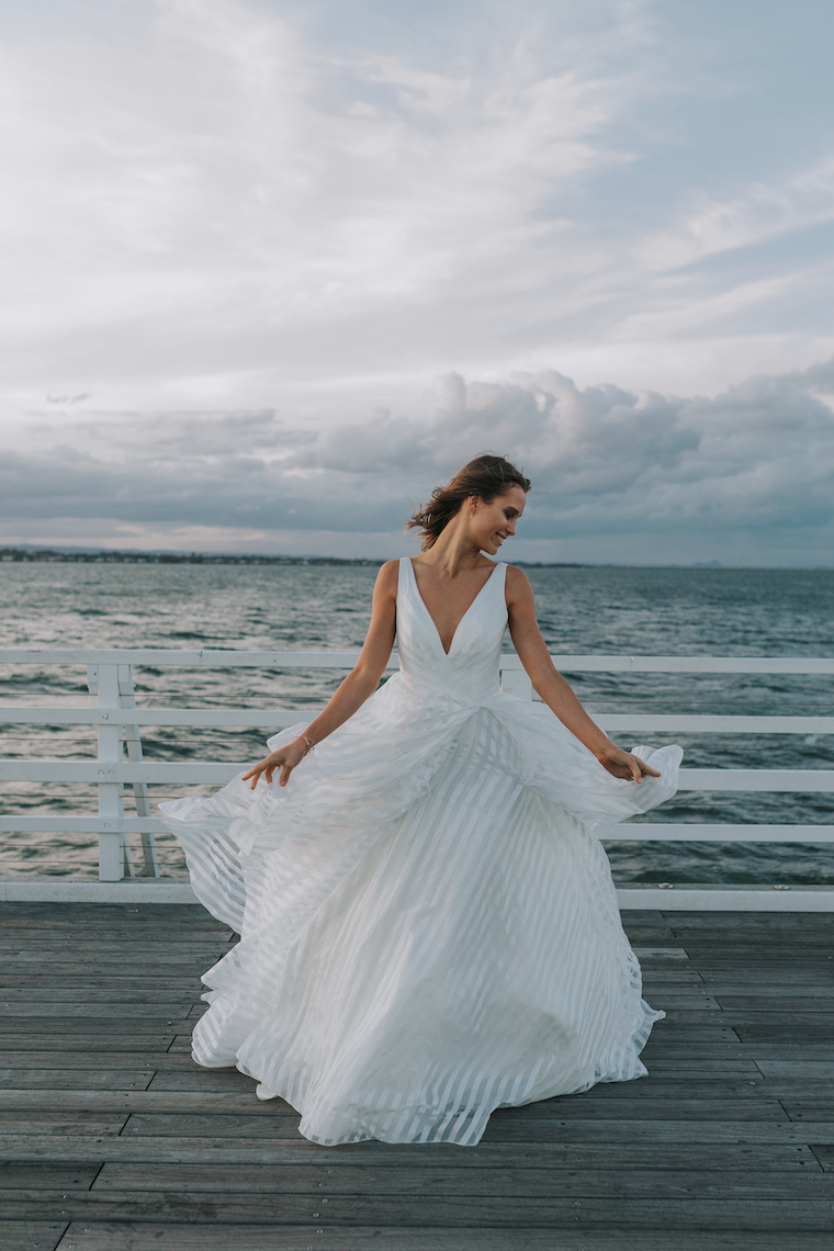 Modern Bridal Fashion | A Windswept Catwalk