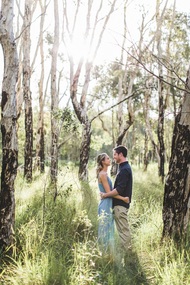 Australian Bush Engagement Shoot _ Adriana Watson _ The Bride's Tree