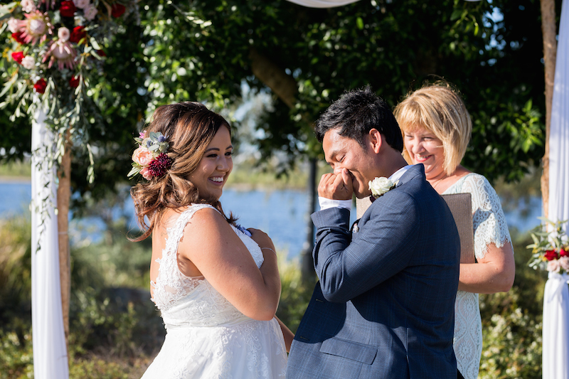 Lakehouse Sunshine Coast wedding _ Ella and Eric _ Nicola Holland _ The Bride's Tree