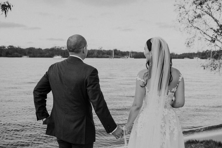 Noosa Waterfront wedding _ Noosa wedding _ Simon Coulson _ The Bride's Tree