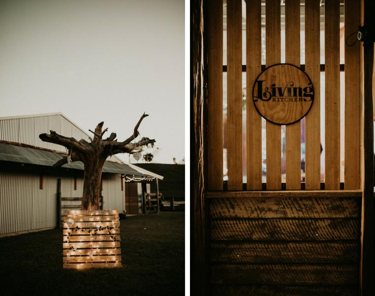 Yabbaloumba Retreat wedding _ Living Kitchen _ Graeme Passmore Photography