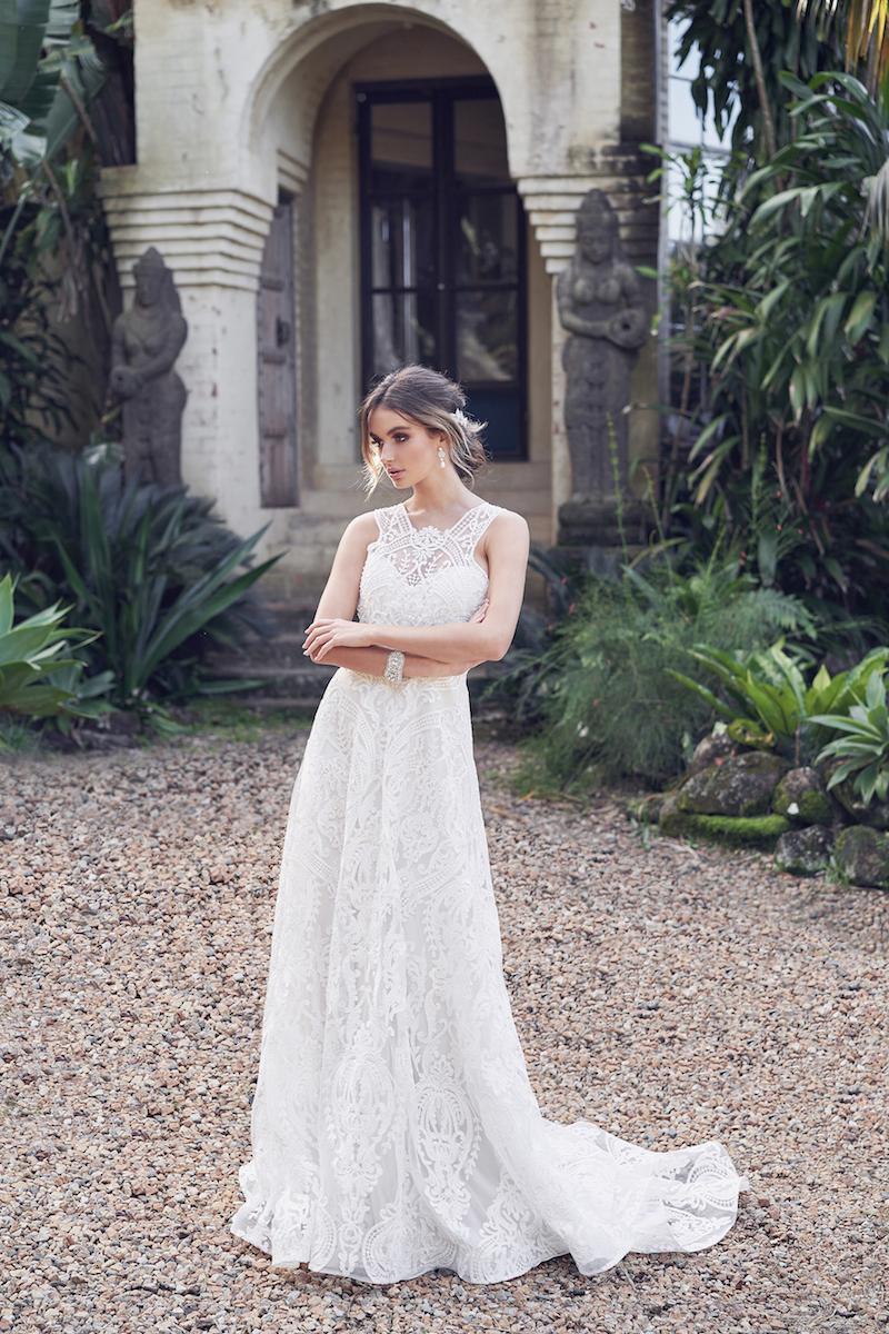 Winter Dress (Empress Lace Skirt)-1