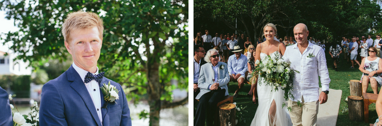 Kate and Ricky _ Noosa Waterfront Wedding 1