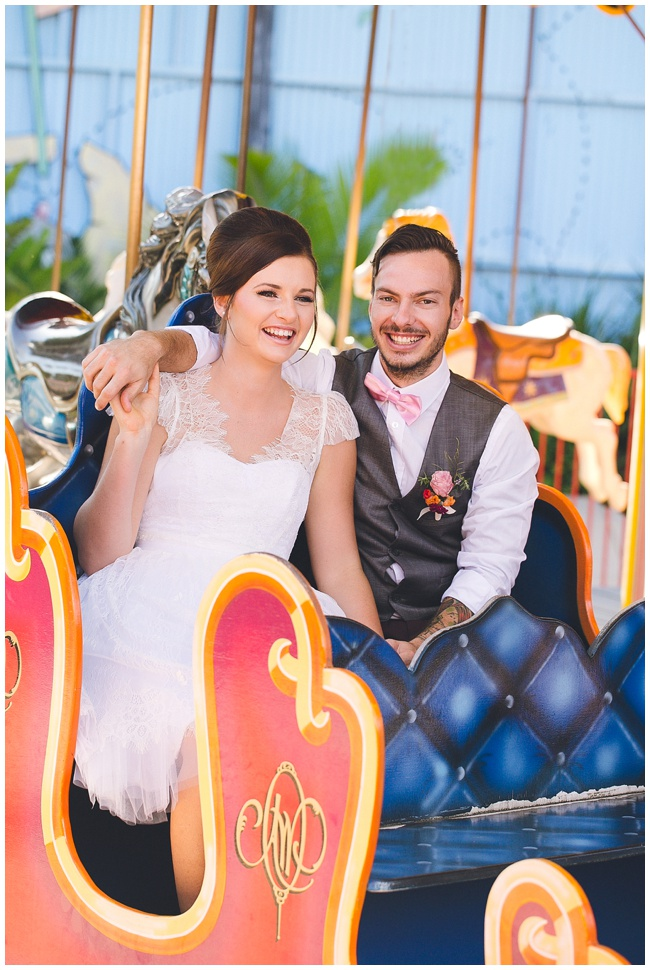 Carnival Theme Park Wedding Inspiration The Brides Tree