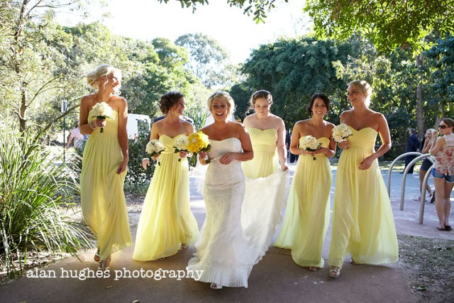Yellow and Blue-grey Wedding Colour Palette - The Bride\'s Tree