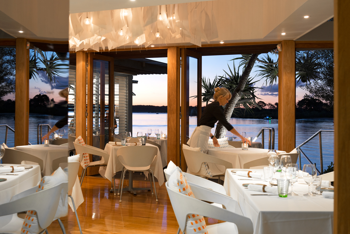 Noosa waterfront wedding venue _ Rickys River Bar and Restaurant _ Noosa Wedding