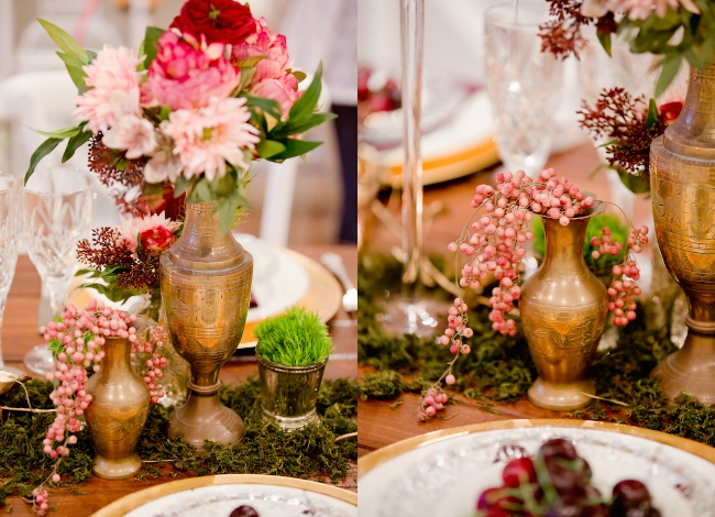 Noosa wedding styled shoot_burgundy and gold wedding_2