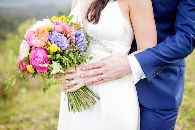 Pink flowers _ Mondo Floral Designs _ The Bride's Tree