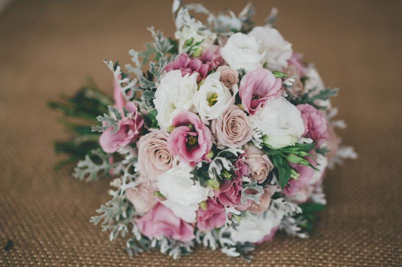 Pink wedding flowers_Poppy Lane Flowers by Design _ The Bride's Tree