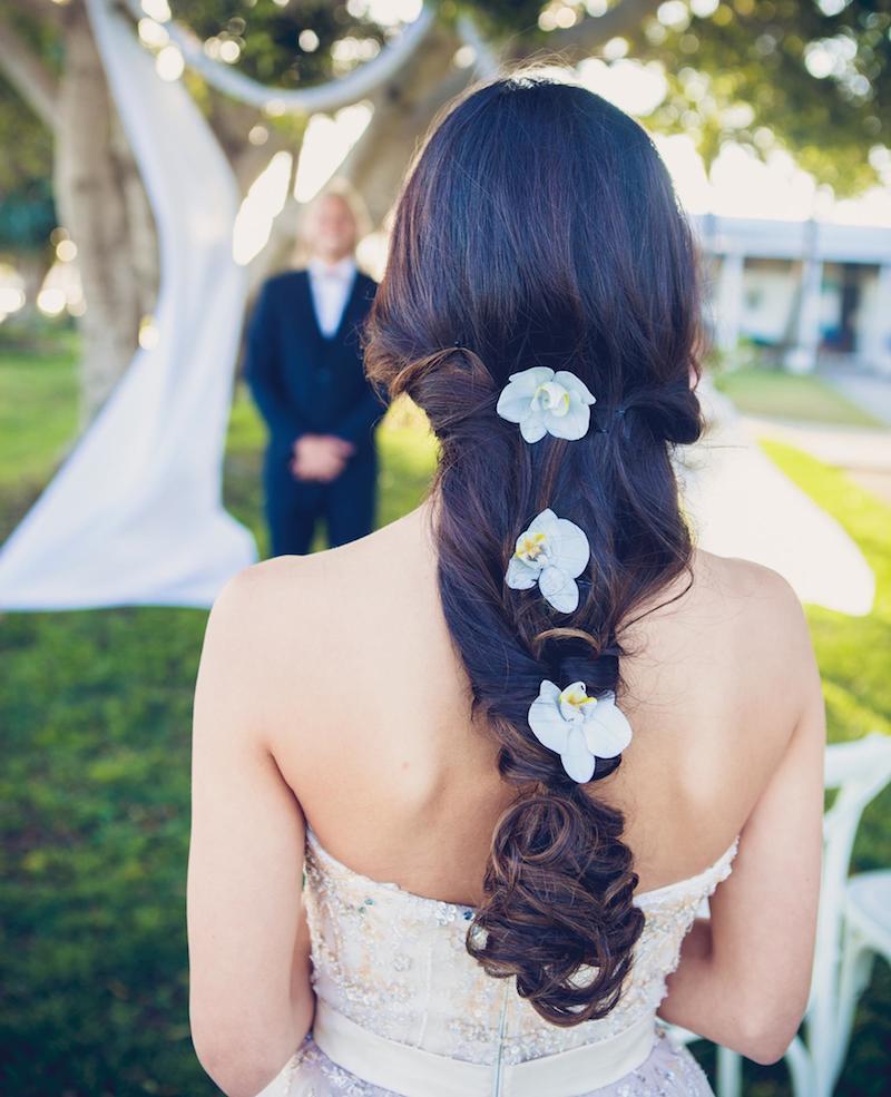 Rolling Scissors_ wedding hair _ Sunshine Coast _ Creative Braids