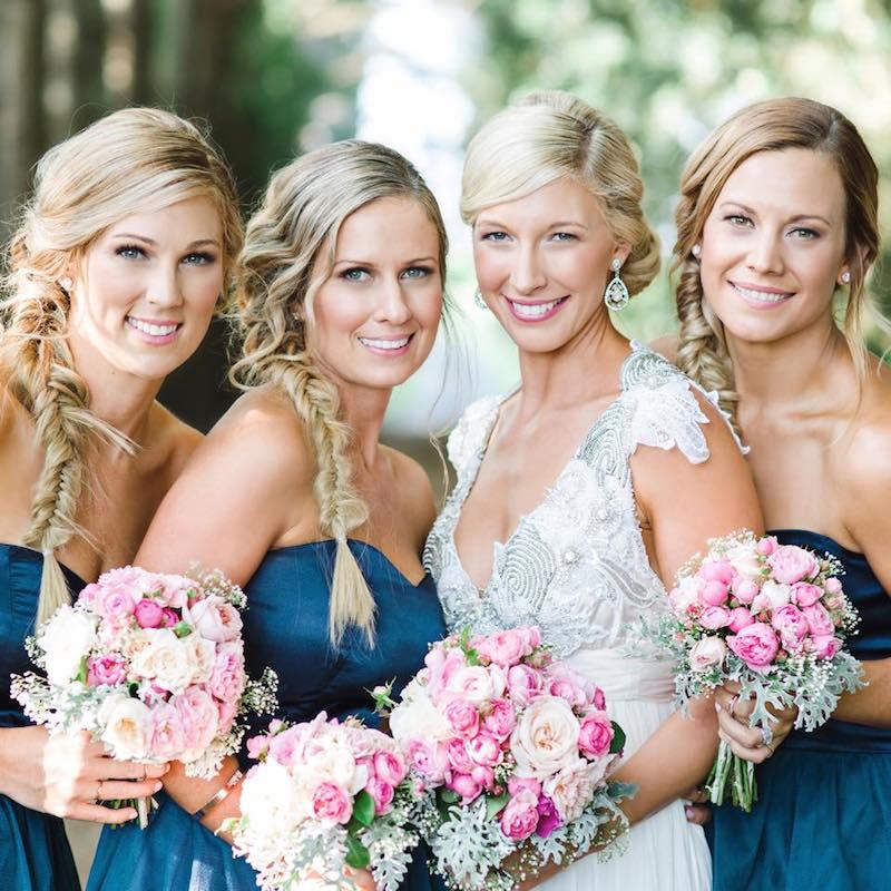 Sass & Niki's Wedding Hair _The Bride's Tree_ Creative braids