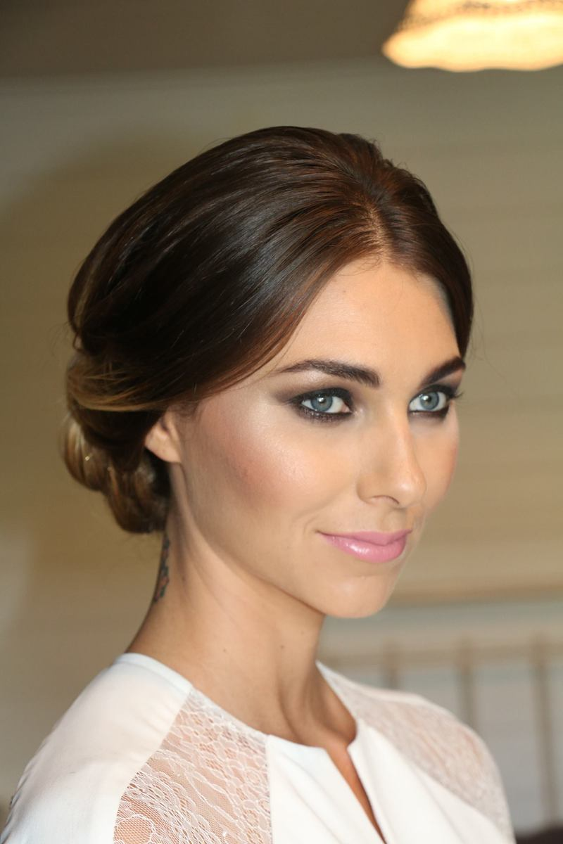 21 Bridal Smokey Eyes The Brides Tree