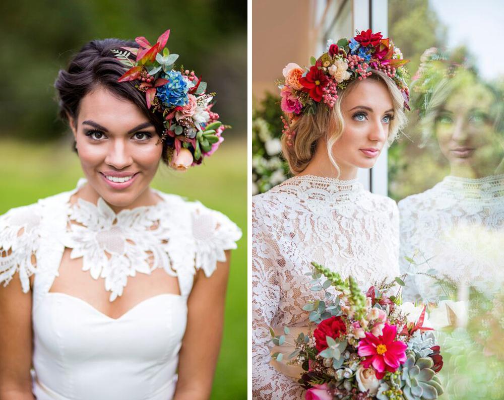 louise henzell makeup artistry - hinterland weddings