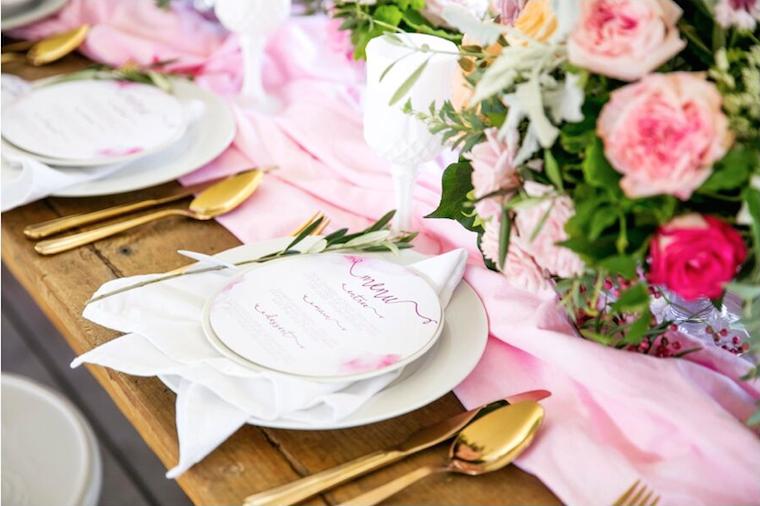 Sunshine Coast hinterland wedding _ pink wedding style _ Jennifer Oliphant Photographer_