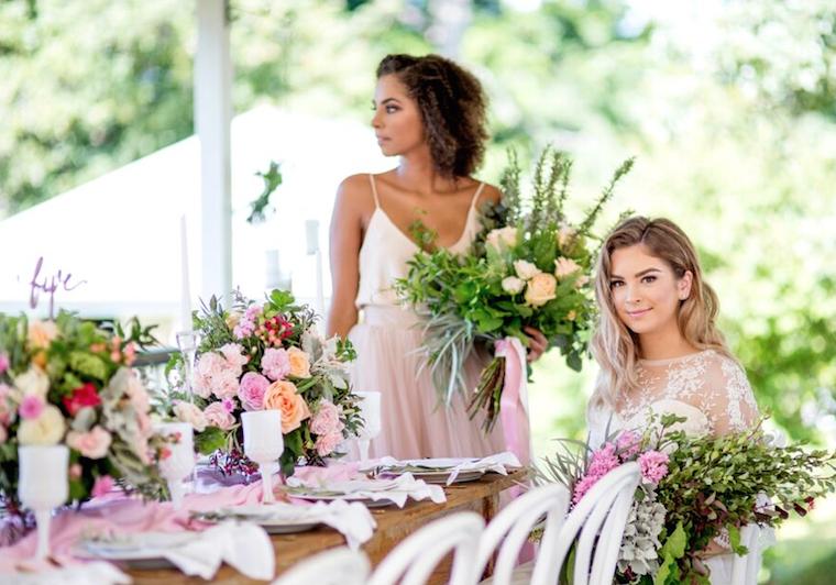 Sunshine Coast hinterland wedding _ pink wedding style _ Jennifer Oliphant Photographer_2