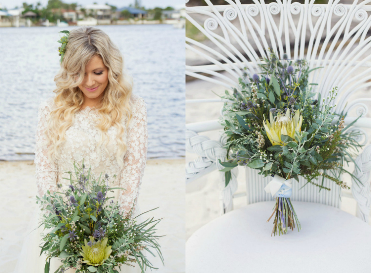 Boho Luxe Beach Wedding _ The Bride's Tree_1