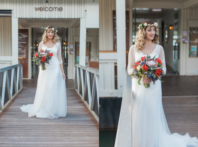 Noosa boathouse styled shoot _