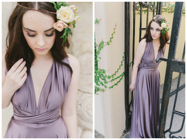 Bridesmaid dresses _ purple _ White Lily Couture