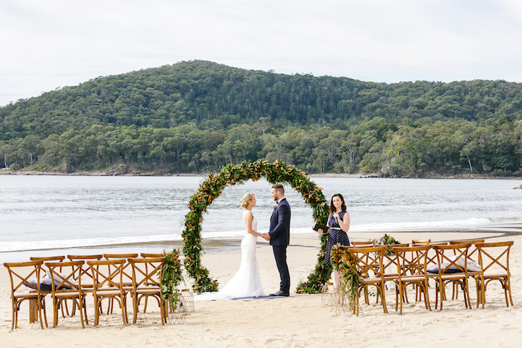 Noosa Winter Wedding