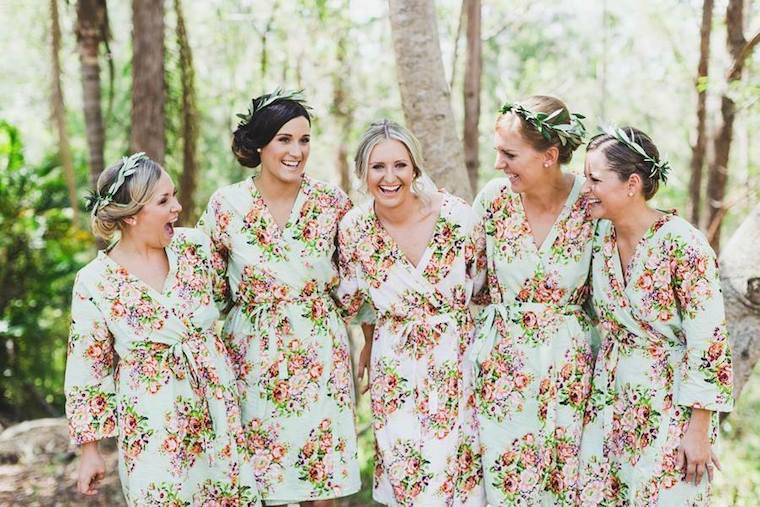 22 Cute-As-Anything Wedding Morning Outfits - The Bride\'s Tree