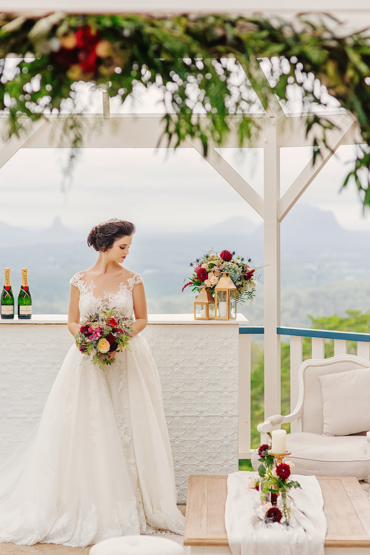 Autumn wedding Maleny