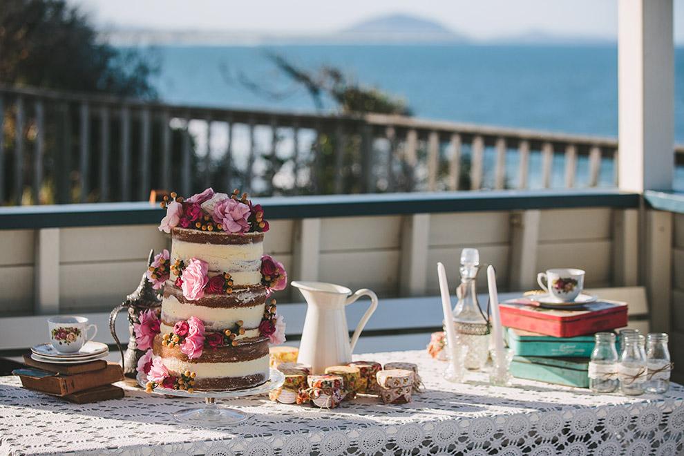 Intimate beach wedding _ Alexandra Headlands wedding _ The Bride's Tree