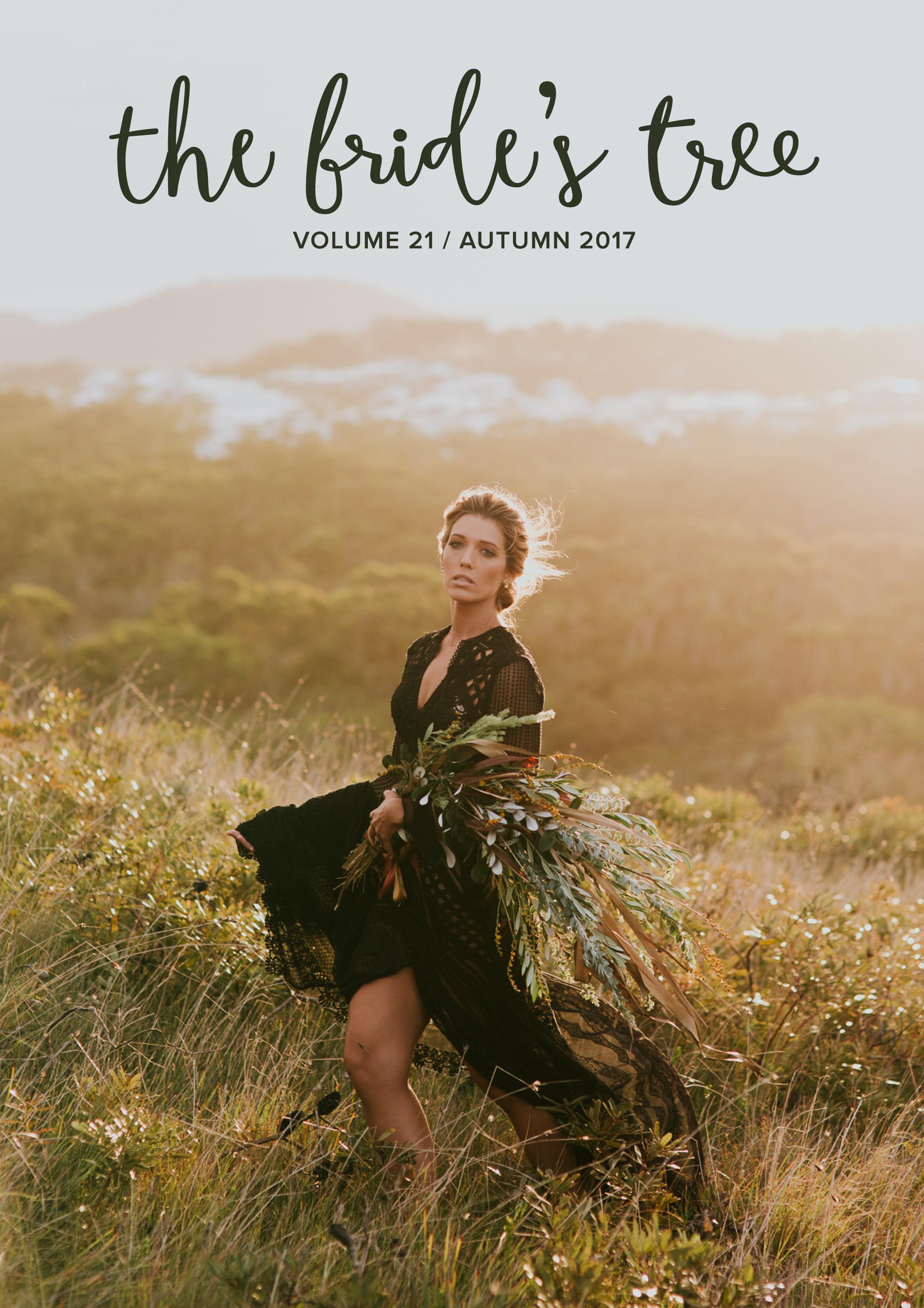 The Bride's Tree Magazine cover Autumn 2017